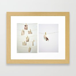Pics or it Didn't Happen  Framed Art Print