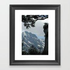 Cooling View Framed Art Print
