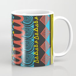 Parallel Shapes Coffee Mug