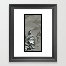 Duck Mountain Framed Art Print