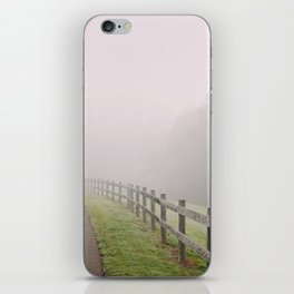 Fence to Nowhere iPhone Skin