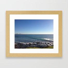 Burleigh Winter Morning Framed Art Print