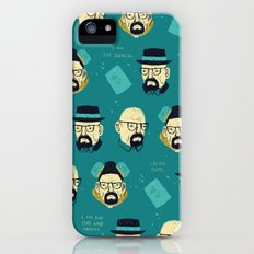 heisenberg pattern iPhone SE Slim Case