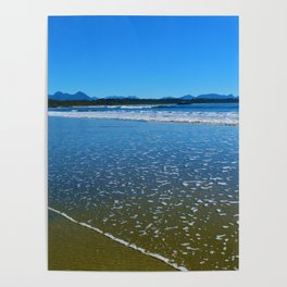 Mountains & Beaches Poster