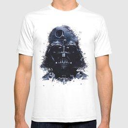 Darth Vader - Death Star - Tie Fighter - Starship Mashup T-shirt