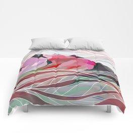 Ocean Sea Mountains Comforters
