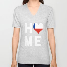 Chile Is My Home Shirt Unisex V-Neck