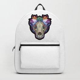Wolf Skull Backpack
