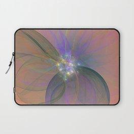 Fairy Blossom Fractal Laptop Sleeve