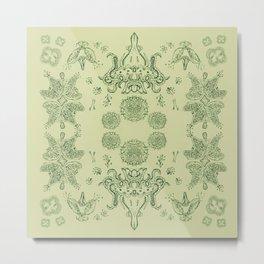 Stauromedusae Metal Print