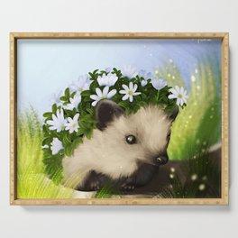 Mountain flowerhog Serving Tray