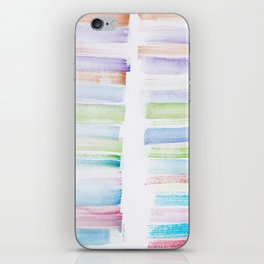 27  | 181101 Watercolour Palette Abstract Art | Lines | Stripes | iPhone Skin