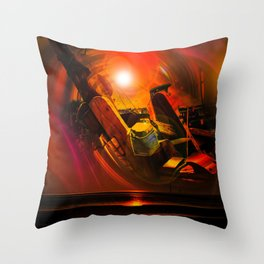 Maritimes Throw Pillow