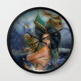 SunQueen Goddess Wall Clock