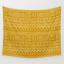 Mud Cloth on Mustard by wellingtonboot