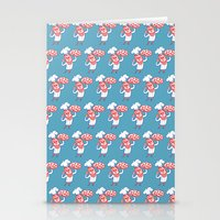 chef Stationery Cards featuring Pizza Chef by drawgood
