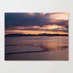 The last exertion before the fall Canvas Print