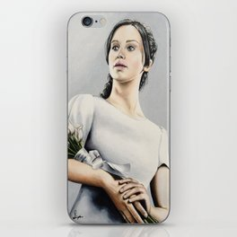 """Katniss Everdeen - Catching Fire """"Convince Me""""   Drawing iPhone Skin"""