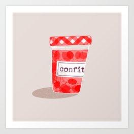 Strawberry Jam 1 Art Print