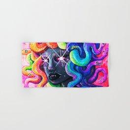 Rainbow Medusa Hand & Bath Towel