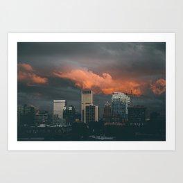 Portland 09.17 Art Print