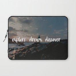 Explore. Dream. Discover Laptop Sleeve