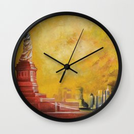 Resta immobile / Remains motionless Wall Clock