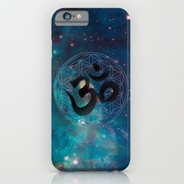 Om & Flower of Life iPhone Case