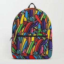 Rainbow Unicorn Fries Backpack