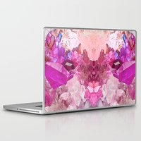 crystal Laptop & iPad Skins featuring Crystal by Dasha Grishina