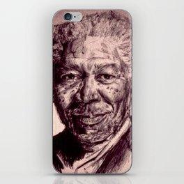 Morgan Freeman iPhone Skin