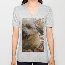 dirty puppy Unisex V-Neck