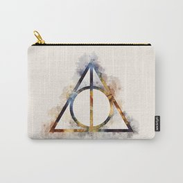 Deathly Hallows Watercolor Carry-All Pouch
