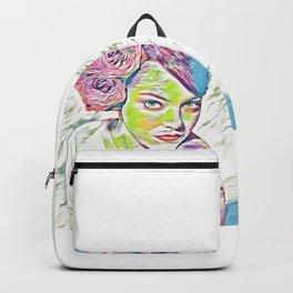 Emma Stone (Creative Illustration Art) Backpack