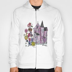 haunted house - colored Hoody