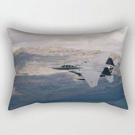 Mach Loop F-15 Rectangular Pillow