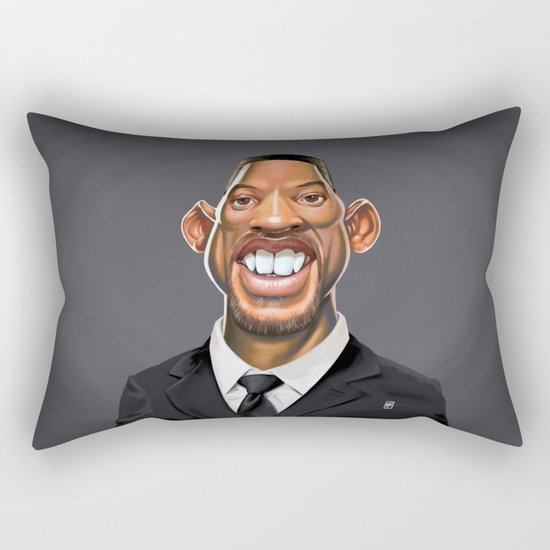 Celebrity Sunday ~ Will Smith Rectangular Pillow