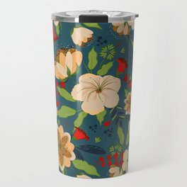 Botanical Beauties Travel Mug