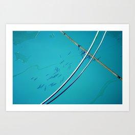In water Art Print