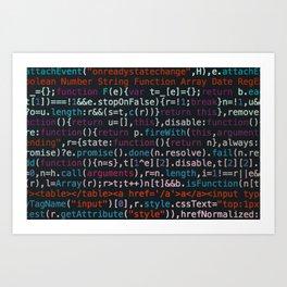 Computer Science Code Kunstdrucke