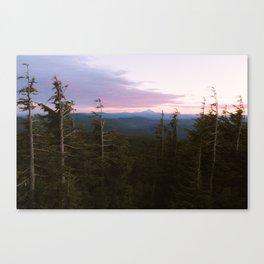 Mount Hood Sunset Canvas Print