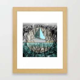 follow your own flow Framed Art Print