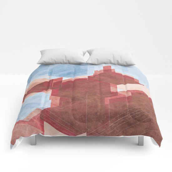 City and Sea Comforters