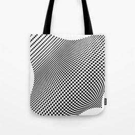 Weaving checker Tote Bag