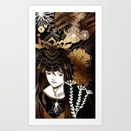 thoughtful Art Print