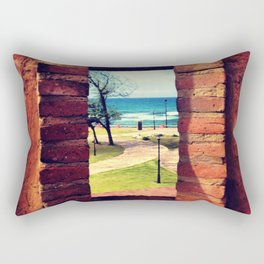 Framing Paradise Rectangular Pillow