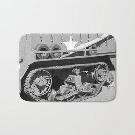 Half Track vehicle Bath Mat