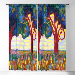 Jacoba van Heemskerck Two Trees Blackout Curtain