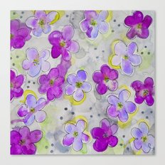 Radiant Orchid Print Canvas Print