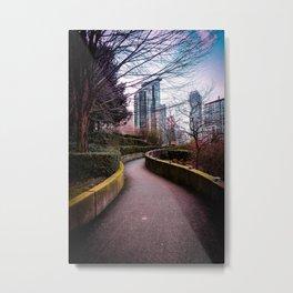 Stroll Metal Print